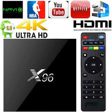 X96 TV Box S905W Quad Core Android 7.1.2 OS 1G 8G Support Youtube Netflix  Music Movies IPTV LIVE Channel Games Set Top Box|Set-top Boxes