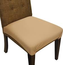 smartseat dining chair seat cover and protector sandstone tan