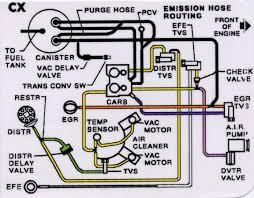 1980 vacuum hose diagram and kit corvetteforum chevrolet here you go