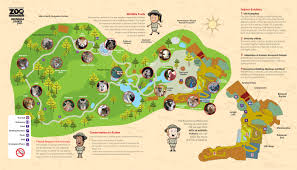 simple zoo map for kids. Contemporary Simple Inside Simple Zoo Map For Kids
