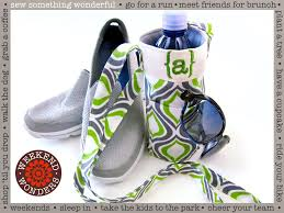 Water Bottle Sling Carrier   Sew4Home & The Northwest is a walking, running, and biking mecca. We love to get out  and about, even in the drizzle for which we are famous. But I must admit,  ... Adamdwight.com