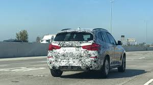 BMW Convertible southern california bmw : Leaked: 2019 BMW X3 Spy Shots Spotted in California - YouTube