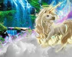 1280x1024 Unicorn Clouds Rainbow Nature ...