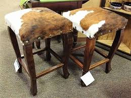 bar and bar stools. Tri Color Cowhide Bar Stool - Western Stools \u0026 Chairs And S