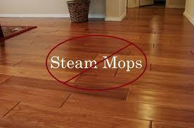 steam mop hardwood floor damage