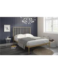 gold bed frame queen. Brilliant Gold DHP 4152339 Giulia Modern Metal Bed Gold Queen As Shown Inside Gold Bed Frame Queen E