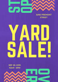 Yard Sale Flyer Ideas 13 Cool Garage Sale Flyers Printaholic