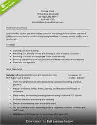 Barista Resume Skills Photo Hire A Blog Ghost Writer Blogger At The