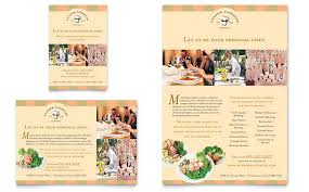 flyer companies catering company flyer ad template design