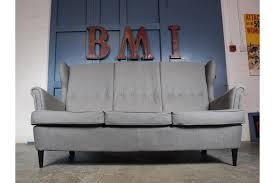 vintage style ikea strandmon wingback three seater sofa 2 available photo 1