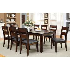Furniture Of America Gibson Bold 9 Piece Dining Table Set Walmartcom