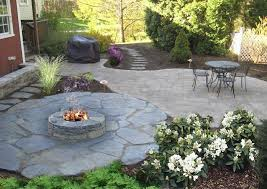 stone patio with fire pit best of nh landscaping designs of patios fire pits natural stone