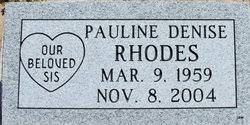 Pauline Denise Rhodes (1959-2004) - Find A Grave Memorial