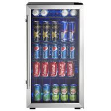 3 3 cubic ft stainless steel freestanding beverage center