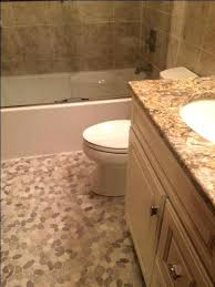 pebble tile for shower floor cleaning fine design stone bathroom best and ideas installation how to pebble floor tile canada stone bathroom