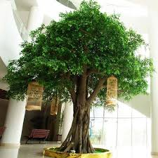 outdoor artificial plants with lights. high simulation large artificial tree for outdoor decoration ficus - buy tree,large tree,artificial product plants with lights d