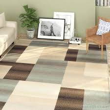 blue rug brown sofa forge light area 0