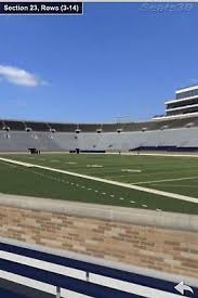 2 Notre Dame Vs Florida State Tickets Section 18 Row 7