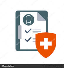 Clinical Chart Medical Insurance Icon Clinical Chart Or Dossier And