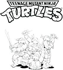 Free Printable Ninja Turtle Coloring Pages Pictures Of Turtles To