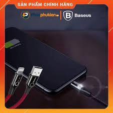 Cáp sạc iPhone tự ngắt khi đầy pin, có đèn báo sạc chính hãng Baseus giá  cạnh tranh