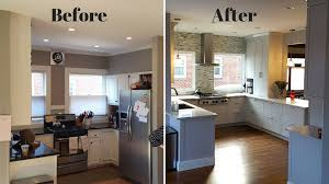 kitchen remodel before and after complete kitchens more
