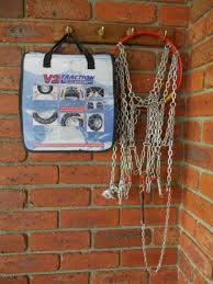 Snow Chains V2 Traction Kn100 Easy Fit Diamond Pattern 1
