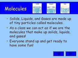Matter Solid Liquid Gases