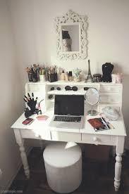 attractive makeup mirror workstation girl makeup desk office organize within organizing desk ideas