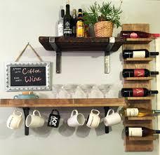 Contemporary Shelves shelves southern enterprises gina wall mount wine rack wall wine 6140 by uwakikaiketsu.us
