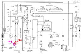 4runner down need some advice page 4 toyota 4runner forum most of the diagram you can ignore but see there are 2 connections at the starter which you will need to have voltage on to get the click of the solenoid