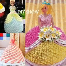 Welliestr Barbie Doll Cake Mold Princess Dress Fondant Cake
