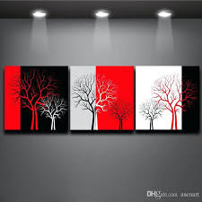 black white and red wall art 2017 red black white three colors tree picture oil painting black white and red wall art  on black and white with a splash of red wall art with black white and red wall art enjoyable black and red wall art huge