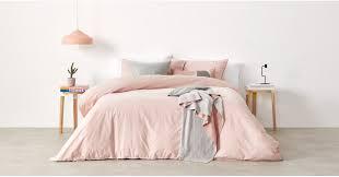 alexia 100 cotton bed set super king pale blush uk bedding sets linen bed bath made com