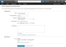 Upload Resume To Linkedin Custom How To Upload Your Resume To LinkedIn Job Market Social Networking