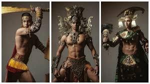Участники конкурса красоты для мужчин выглядят как боссы ...