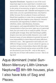 Aquarius Dominant Aquarius Is One Of The Most Important