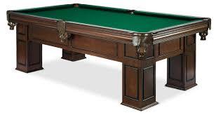 Frontenac Walnut Modern Straight Leg Billiard Table Is Great
