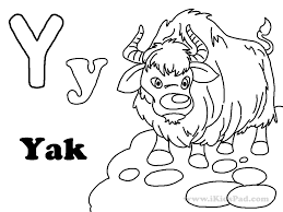 Small Picture Yak Coloring Pages GetColoringPagescom