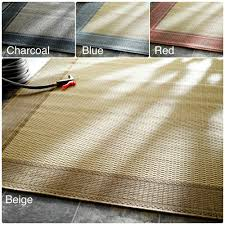 Solid Color Kitchen Rugs Nuloom Solid Border Outdoor Indoor Rug 9 X 12 By Nuloom