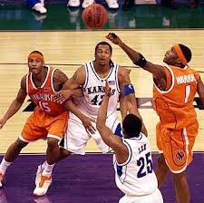 2002 03 Syracuse Orangemen Team Signed Basketball 2003 Ncaa