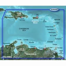 Garmin Charts Garmin Vus030r Southeast Caribbean Bluechart G2 Vision