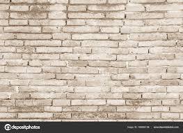 Crème Kleuren En Witte Bakstenen Muur Kunst Beton Of Stenen Textuur