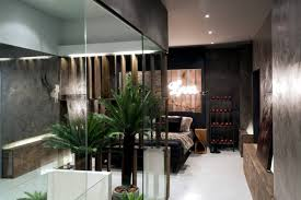 modern bedroom with bathroom. Delighful Bedroom This Interesting Project For A Room Design Was Inspired By The Biblical  Garden Of Eden Modern Bedroom With Ensuite Bathroom In Middle Created  With Bedroom Bathroom