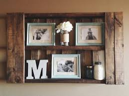Shelves Made From Pallets Diy Pallet Shelf Stained With Minwax Special Walnut My