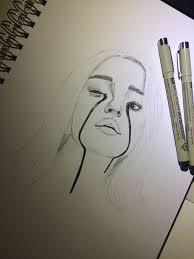 Billie Eilish Sketch Tekenen Hoe Te Tekenen Mensen Tekenen En