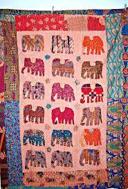 Paisley Queen Indian Handmade Quilt Cotton Patchwork Kantha ... & Sari Indian Quilt Elephant Applique Patch Work Kantha Quilt Quilted  Bedspreadsthrowsralli Handmade Indian Patchwork Quilts Indian ... Adamdwight.com