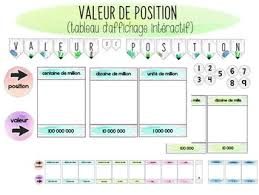 French Place Value Math Worksheets Teaching Resources Tpt