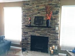 diy fireplace surround creative faux panels rock fireplaces best stone on interior with rock faux stone