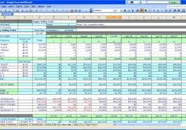 Basic Accounting Spreadsheet Template and Free Simple Accounting ...